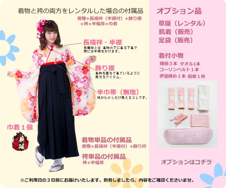 袴セットの付属品